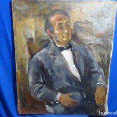 Arte: GRAN RETRATO AL ÓLEO DE FEDERICO AGUILAR ALCUAZ (FILIPINAS 1932-2011).IX DE 1974.PICASSO FILIPINO.. Lote 243488715