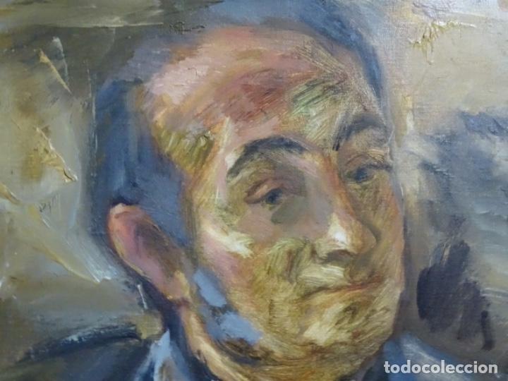 Arte: GRAN RETRATO AL ÓLEO DE FEDERICO AGUILAR ALCUAZ (FILIPINAS 1932-2011).IX DE 1974.PICASSO FILIPINO. - Foto 10 - 243488715