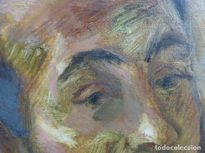 Arte: GRAN RETRATO AL ÓLEO DE FEDERICO AGUILAR ALCUAZ (FILIPINAS 1932-2011).IX DE 1974.PICASSO FILIPINO. - Foto 13 - 243488715