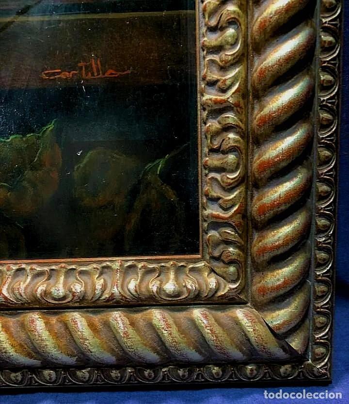 Arte: MESA CON JARRA Y FRUTOS - MIGUEL CASTILLO 1893 - Foto 10 - 243578105