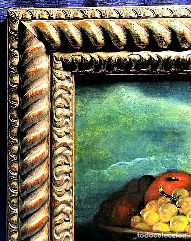Arte: MESA CON JARRA Y FRUTOS - MIGUEL CASTILLO 1893 - Foto 12 - 243578105