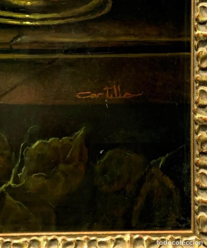 Arte: MESA CON JARRA Y FRUTOS - MIGUEL CASTILLO 1893 - Foto 13 - 243578105