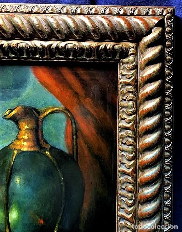 Arte: MESA CON JARRA Y FRUTOS - MIGUEL CASTILLO 1893 - Foto 14 - 243578105