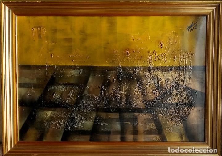 ÓLEO, ANDRÉS ISASI ARAMBERRI (BILBAO, 1946) (Arte - Pintura - Pintura al Óleo Contemporánea )