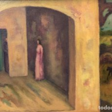 Arte: SANTIAGO COVAS - ÓLEO SOBRE TELA -. Lote 243601630