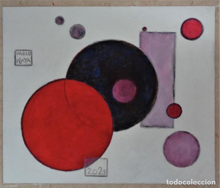 """""""MULTIDIMENSIONAL 1"""" 2021 (Arte - Pintura Directa del Autor)"""