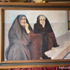 Arte: ÓLEO DE MUJERES. Lote 243839185