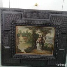 Arte: FLAMENCO SIGLO XVI SOBRE COBRE 51X45 CM. Lote 243872760