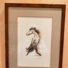 Arte: CABALLO DE LÓPEZ ESPÍ. Lote 243996220