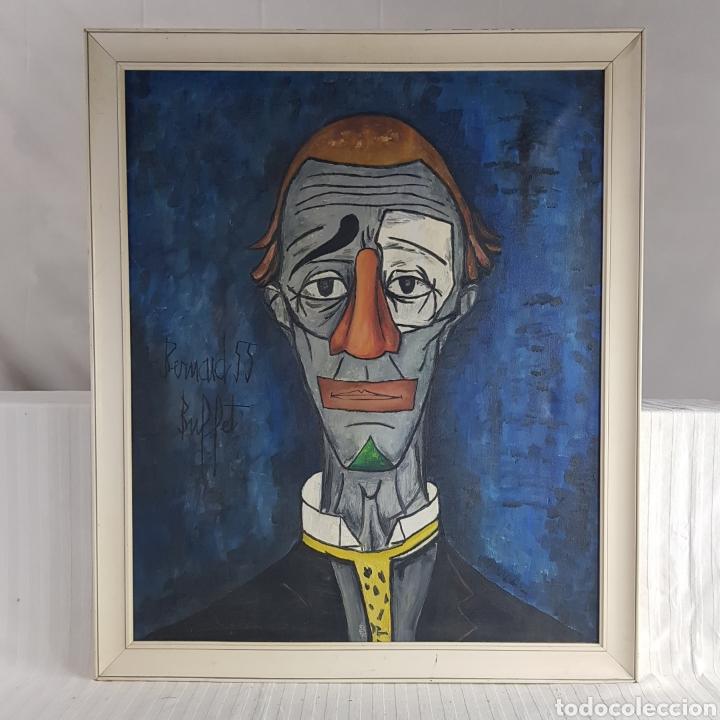 "Arte: ""Payaso"" Seguidor de Bernard Buffet 1958 - Foto 3 - 244196230"