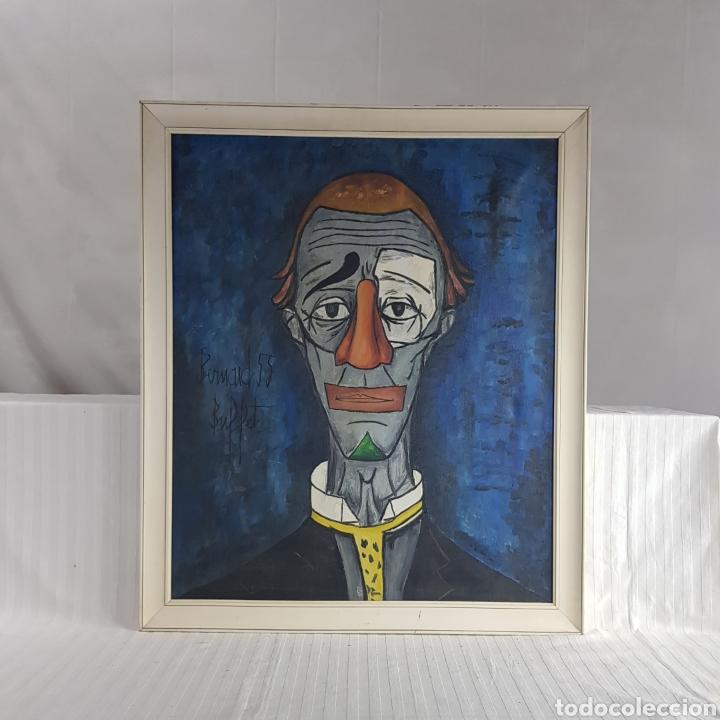 "Arte: ""Payaso"" Seguidor de Bernard Buffet 1958 - Foto 5 - 244196230"