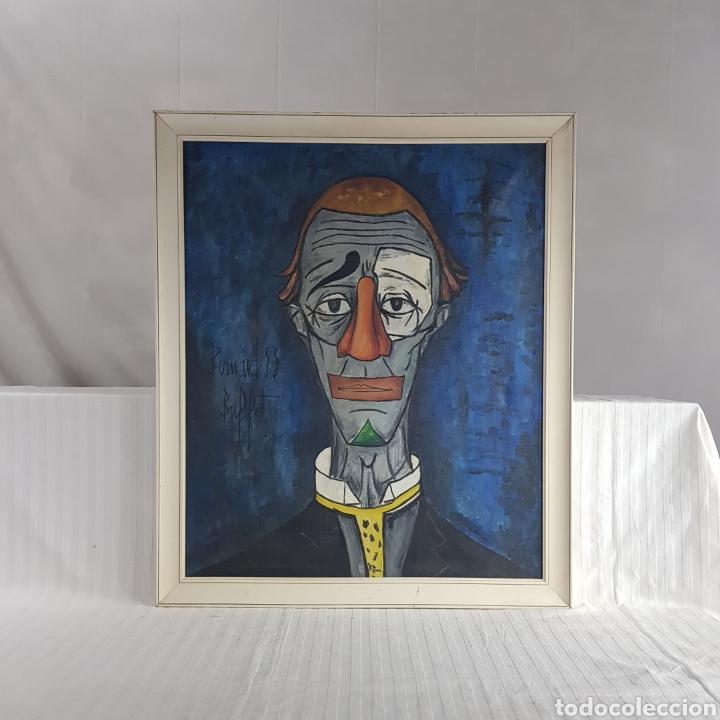 "Arte: ""Payaso"" Seguidor de Bernard Buffet 1958 - Foto 6 - 244196230"