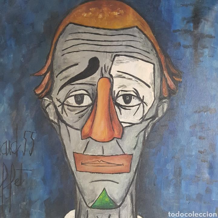 "Arte: ""Payaso"" Seguidor de Bernard Buffet 1958 - Foto 9 - 244196230"