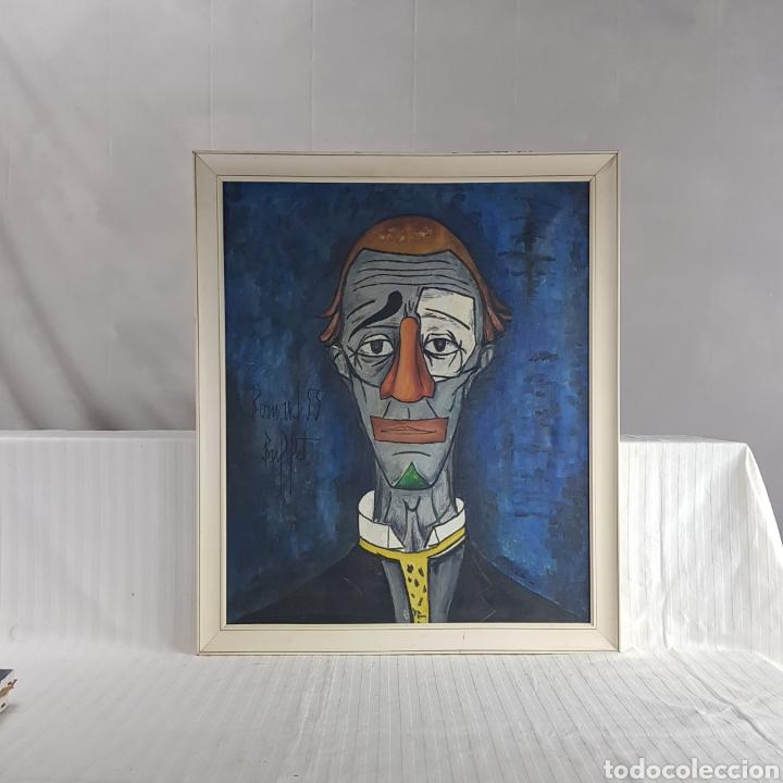 "Arte: ""Payaso"" Seguidor de Bernard Buffet 1958 - Foto 11 - 244196230"