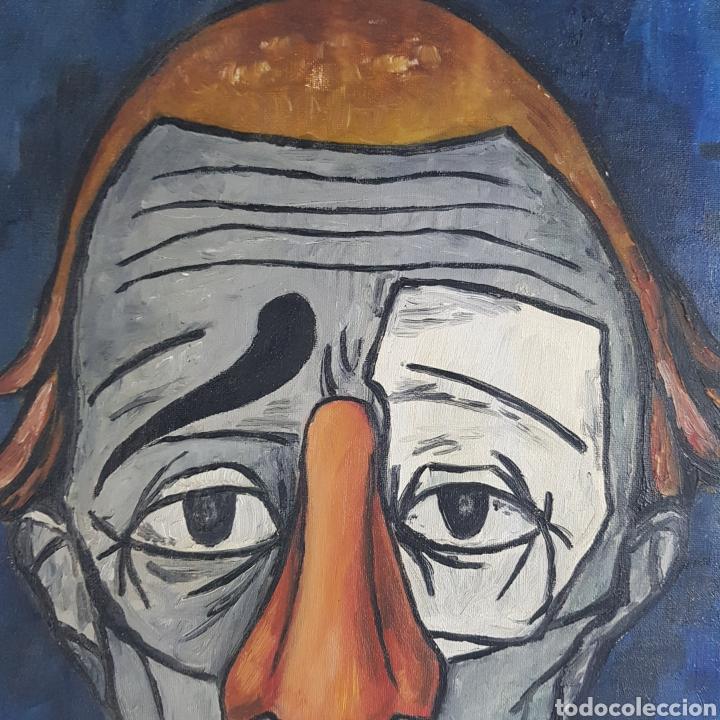 "Arte: ""Payaso"" Seguidor de Bernard Buffet 1958 - Foto 12 - 244196230"