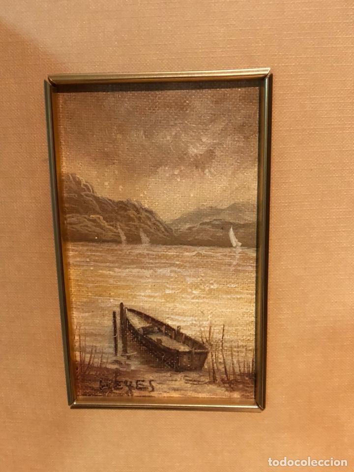 Arte: Lote de 2 óleos sobre tabla, firmados - Foto 4 - 244431605