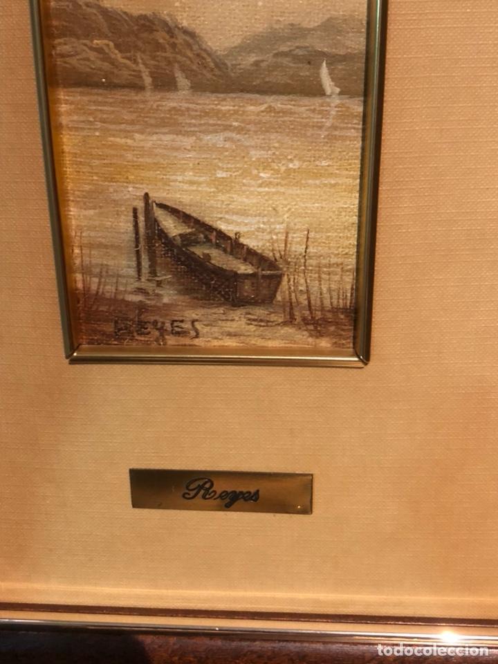 Arte: Lote de 2 óleos sobre tabla, firmados - Foto 5 - 244431605