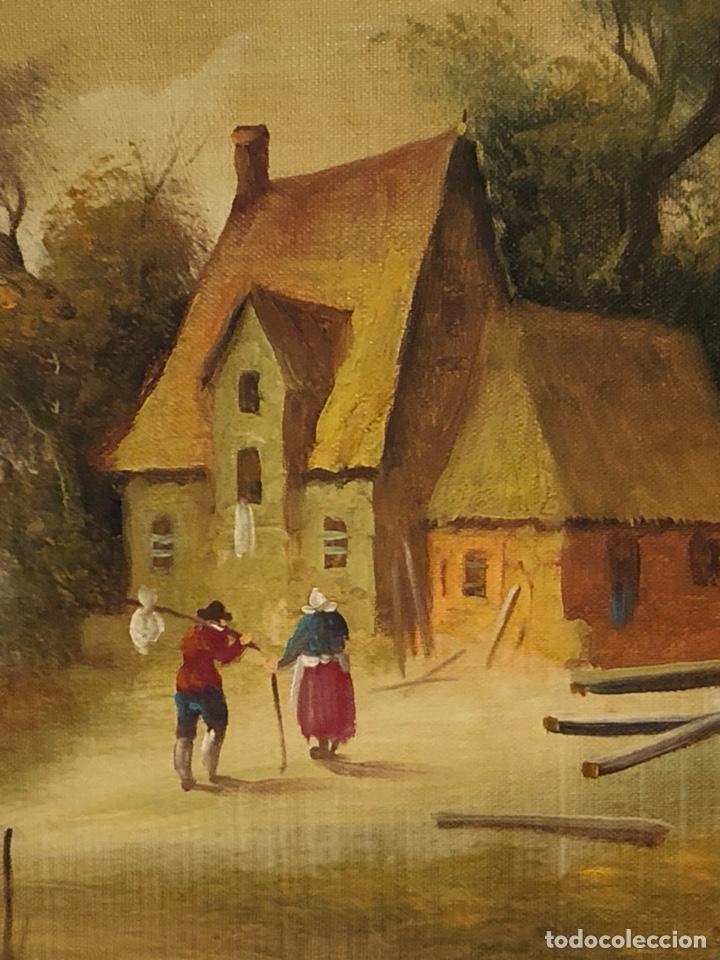 Arte: Bonito óleo sobre lienzo, firmado - Foto 2 - 244441240