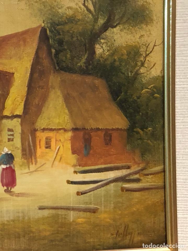 Arte: Bonito óleo sobre lienzo, firmado - Foto 3 - 244441240