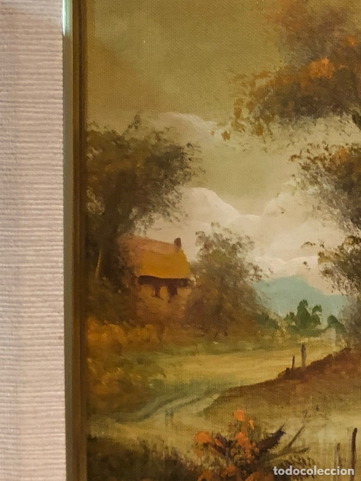 Arte: Bonito óleo sobre lienzo, firmado - Foto 4 - 244441240
