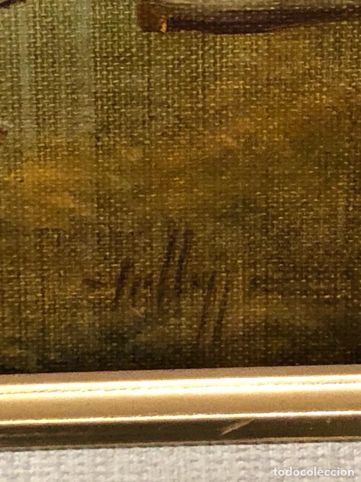 Arte: Bonito óleo sobre lienzo, firmado - Foto 5 - 244441240