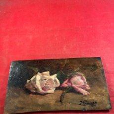 Arte: ÓLEO SOBRE TABLA. ATRIBUIDO A IGNACIO PINAZO 1911. Lote 244495065