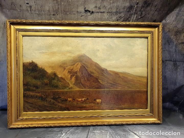 OLEO SOBRE LIENZO FIRMADO (Arte - Pintura - Pintura al Óleo Antigua sin fecha definida)
