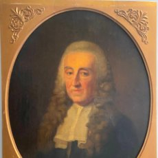 Arte: JOHANN TISCHBEIN (1751-1829), PORTRAIT MR. JAN VAN DE POLL , AMSTERDAM . GERMAN , ORIGINAL PAINTING. Lote 244831845