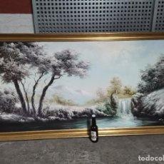 Arte: IMPRESIONANTE CUADRO ÓLEO SOBRE TELA FIRMADO CAMPILLO SÓLO RECOGIDA EN MALLORCA POR SU GRAN VOLUMEN. Lote 244843925
