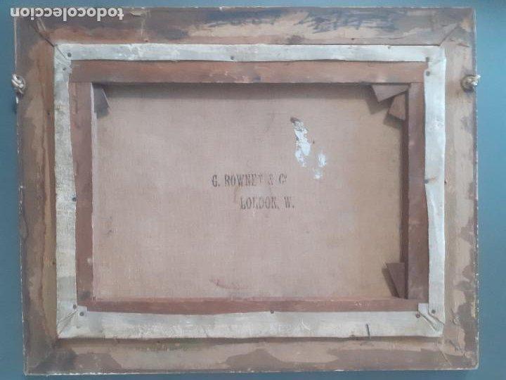 Arte: OLEO, PAISAJE CAMPIÑA INGLESA. MEDIADOS S.XIX. - Foto 2 - 197432831