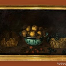Arte: MAGNIFICO BODEGON ESPAÑOL AL ESTILO DE YEPES. Lote 244897735