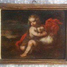 Arte: VALDES LEAL, JUAN DE (SEVILLA 1622- 1690): SAN JUANITO CON CORDERO. Lote 245085910