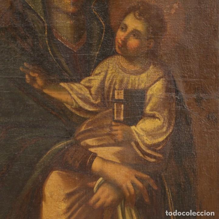Arte: Antigua Virgen con el Niño del siglo XVII - Foto 5 - 245088695