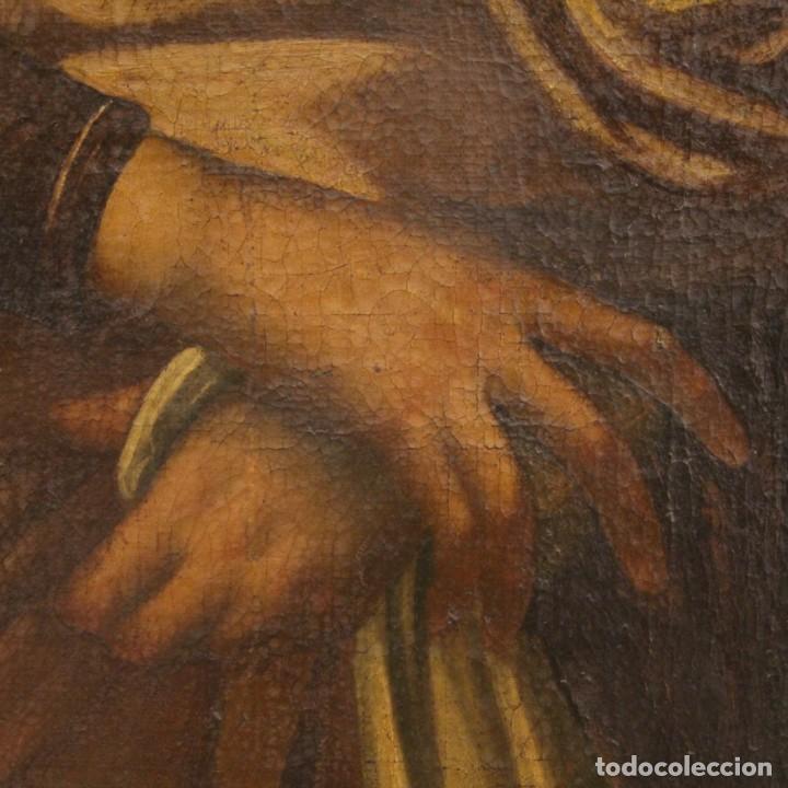 Arte: Antigua Virgen con el Niño del siglo XVII - Foto 8 - 245088695