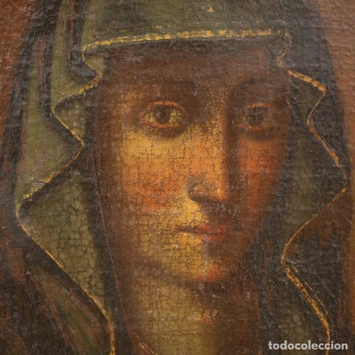 Arte: Antigua Virgen con el Niño del siglo XVII - Foto 10 - 245088695