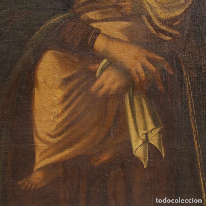 Arte: Antigua Virgen con el Niño del siglo XVII - Foto 11 - 245088695