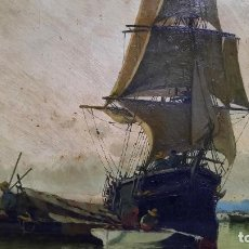 Arte: OLEO SOBRE LIENZO SIGLO XIX ENRIQUE SABORIT 1869-1928. Lote 245103465