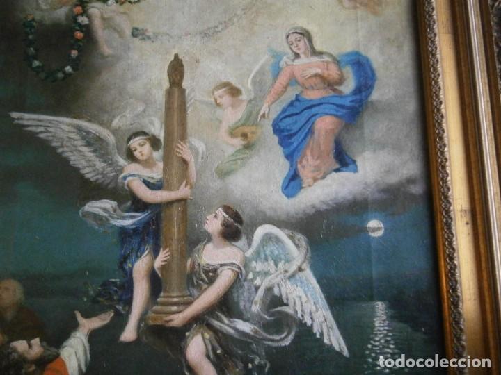 Arte: PRECIOSO CUADRO PINTADO, MUY ANTIGUO. (FIRMADO) - Foto 6 - 245173255