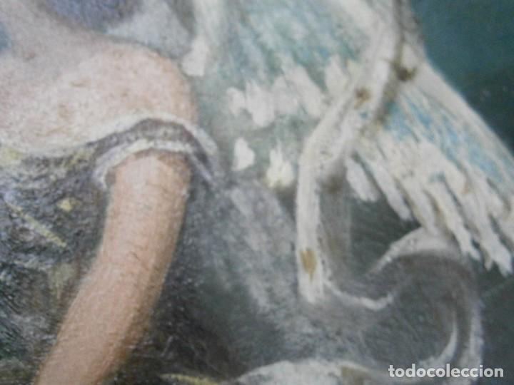 Arte: PRECIOSO CUADRO PINTADO, MUY ANTIGUO. (FIRMADO) - Foto 38 - 245173255