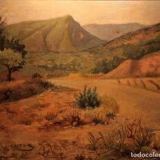 Arte: ESCUELA ESPAÑOLA (MEDIADOS DEL SIGLO XX) - PAISAJE DE EXCELENTE CALIDADL FIRMADO.. Lote 245504350