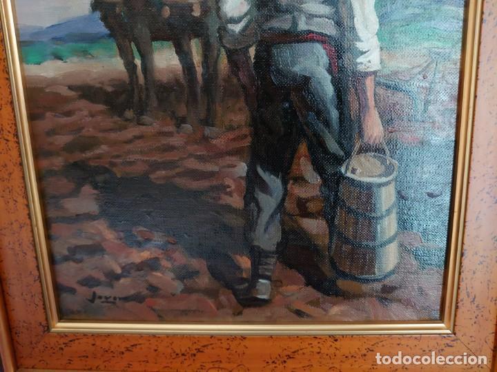 Arte: PAREJA OLEOS SOBRE LIENZO EL SEMBRADOR - Foto 16 - 245967630