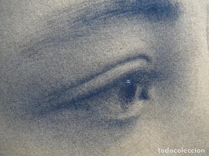 Arte: EXCELENTE DIBUJO MODERNISTA CON TOQUES DE ÓLEO. FIRMA ILEGIBLE. MAESTRO. - Foto 23 - 246168350