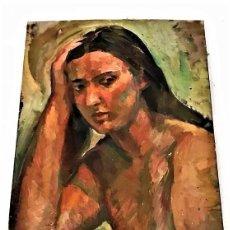 Arte: JOVEN POSANDO J. TOMAS COSTA 1924 - 1990. Lote 246258565