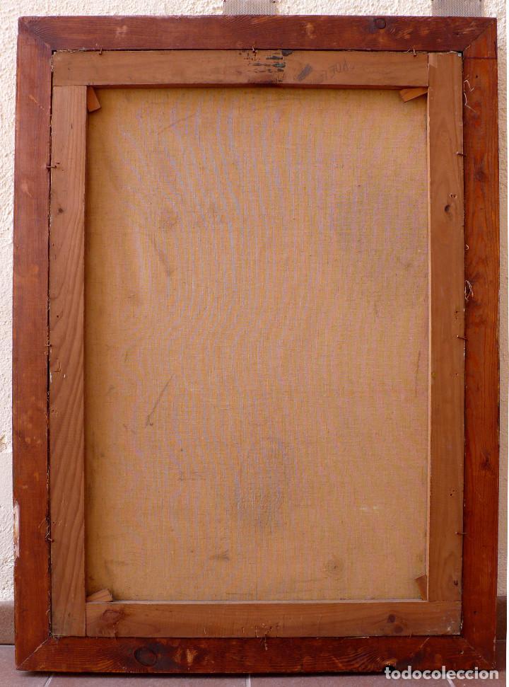 Arte: VENECIA NOCHE OLEO SANTA MARIA DELLA SALUTE BASILICA SAN MARCOS BARCAS CANALES PUESTA DE SOL DORADO - Foto 7 - 246310875