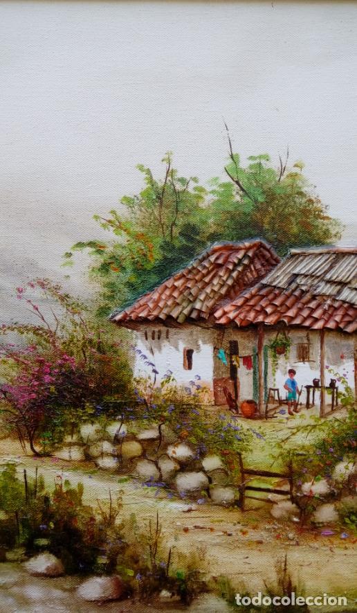 Arte: ÓLEO S/LIENZO DE JOSEFA PINTO -CHEMY-. DIM.- 78.25X58,25 CMS. - Foto 5 - 246338635