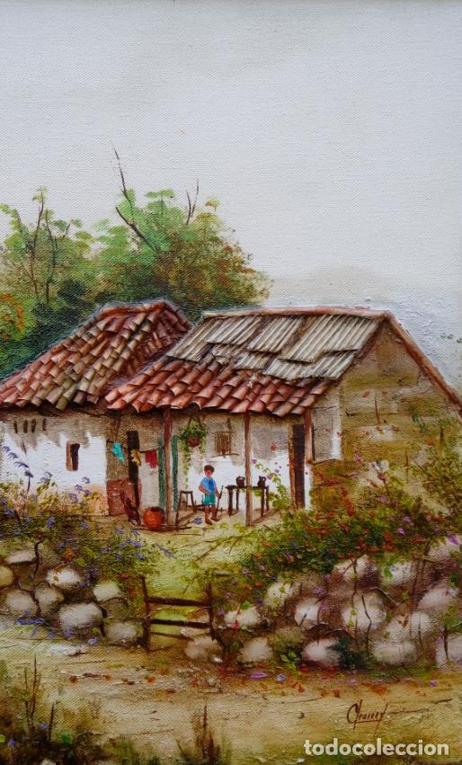 Arte: ÓLEO S/LIENZO DE JOSEFA PINTO -CHEMY-. DIM.- 78.25X58,25 CMS. - Foto 6 - 246338635