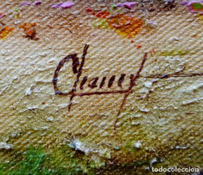 Arte: ÓLEO S/LIENZO DE JOSEFA PINTO -CHEMY-. DIM.- 78.25X58,25 CMS. - Foto 7 - 246338635
