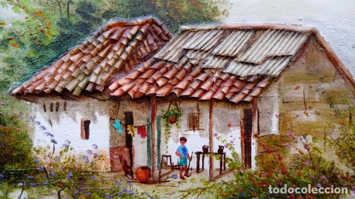 Arte: ÓLEO S/LIENZO DE JOSEFA PINTO -CHEMY-. DIM.- 78.25X58,25 CMS. - Foto 9 - 246338635