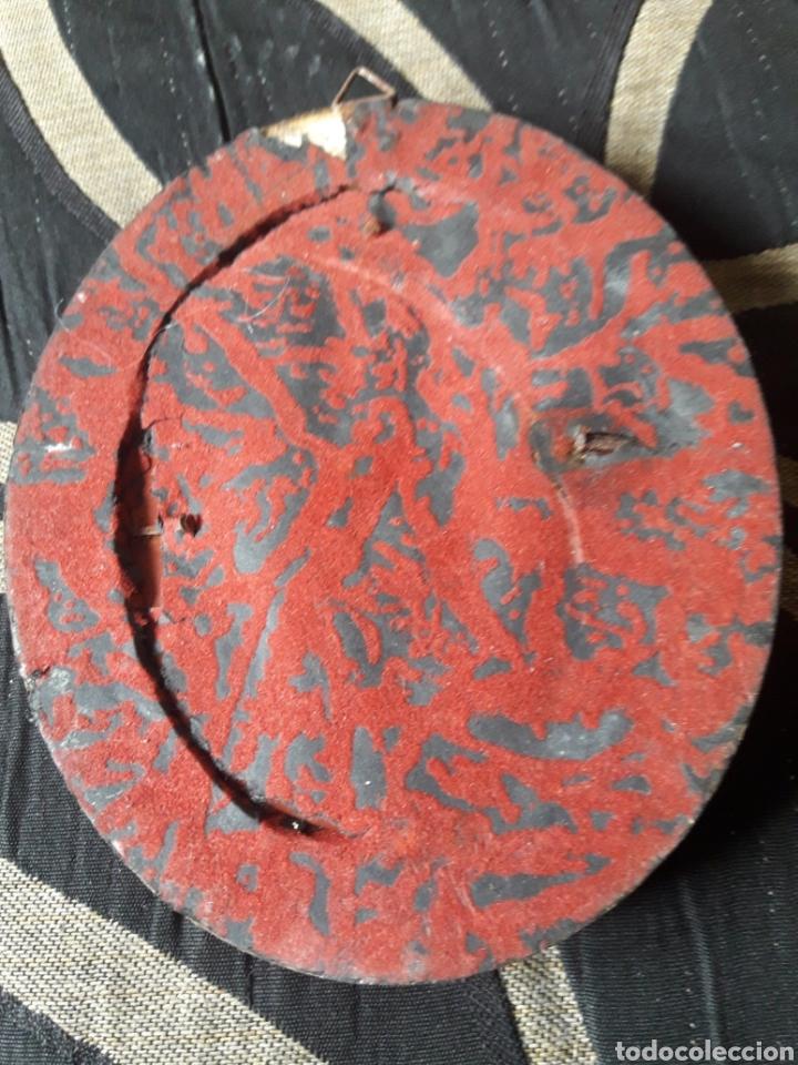 Arte: Antigua miniatura, óleo sobre cobre - Foto 3 - 246466225