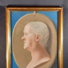 Arte: RETRATO CABALLERO. PASTEL. INGLATERRA. SIGLO XVIII-XIX.. Lote 246652645